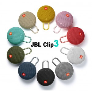 JBL Clip3 Wireless Bluetooth Speaker Hands-free Call Portable Outdoor Sports Speaker