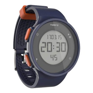 Decathlon Kalenji Sports Watch Digital Waterproof Marathon Electronic Watch Blue