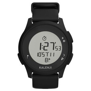 Decathlon Kalenji Athletic Watch Digital Waterproof Sports Electronic Watch Black
