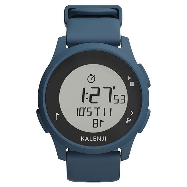 Decathlon Kalenji Athletic Watch Digital Waterproof Sports Electronic Watch Blue