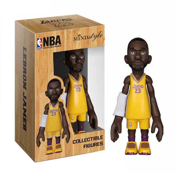 MINDstyle NBA Lakers James model dolls popular basketball peripheral toys