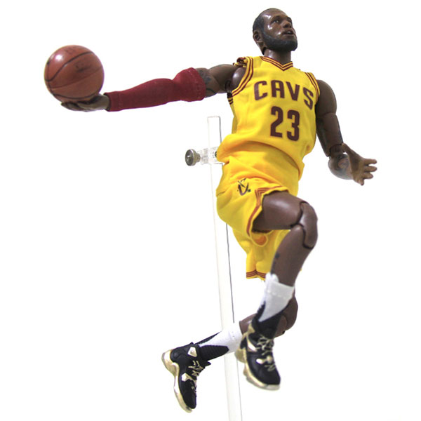 Wholesale NBA Star Lakers Lebron James Doll 1/9 Movable Model Garage Kits Toys