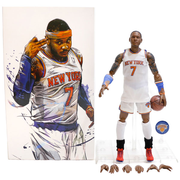 Wholesale NBA Star Knicks Anthony Doll 1/9 Movable Model Garage Kits Toys
