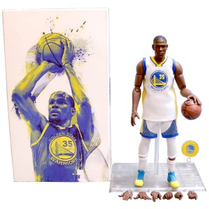 Wholesale NBA Star Warriors Kevin Durant Doll 1/9 Movable Model Garage Kits Toys