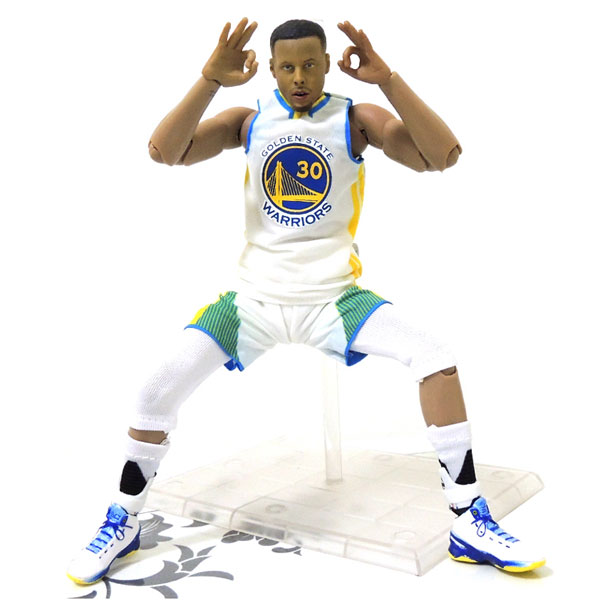Wholesale NBA Star Warriors Stephen Curry Doll 1/9 Movable Model Garage Kits Toys