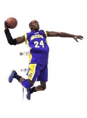 Wholesale NBA Star Lakers Kobe Bryant Doll 1/9 Movable Model Garage Kits Toys