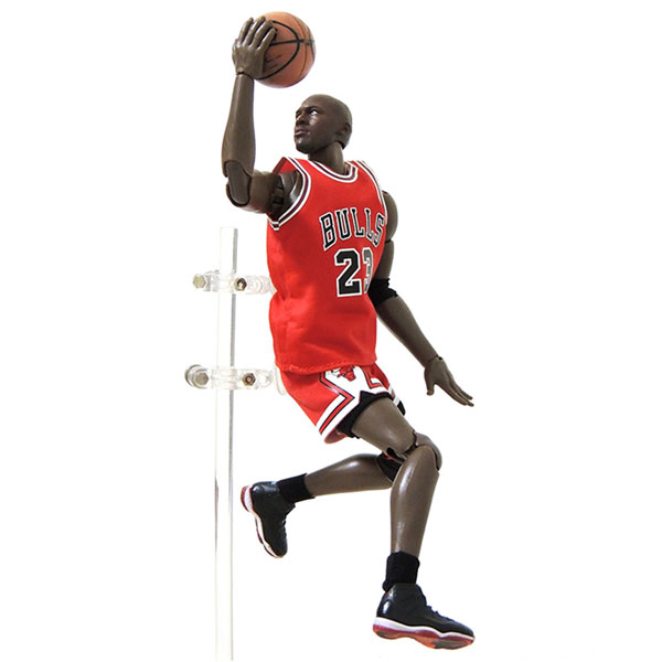 Wholesale NBA Star Bulls Michael Jordan Doll 1/9 Movable Model Garage Kits Toys