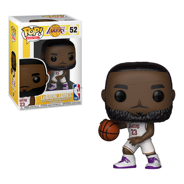 Funko Pop NBA Series 3 Lebron James 52 Lakers Dolls Action Figure Model Toys