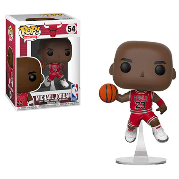 Funko Pop NBA Series 3 Bulls Michael Jordan 54 Dolls Action Figure Model Toys