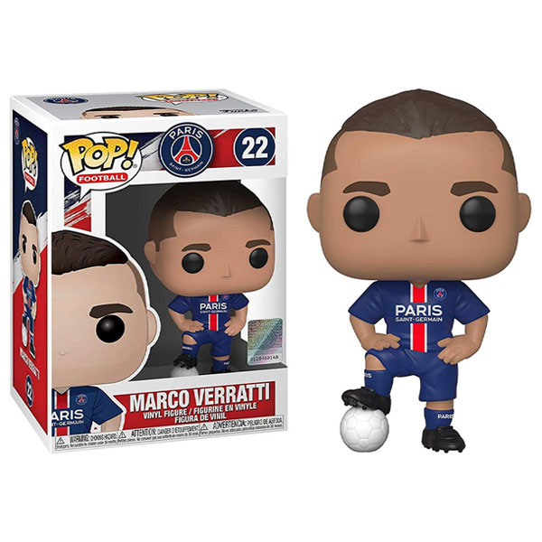 Funko Pop Soccer Players Series Marco Verratti Dolls Action Figure Model Toys