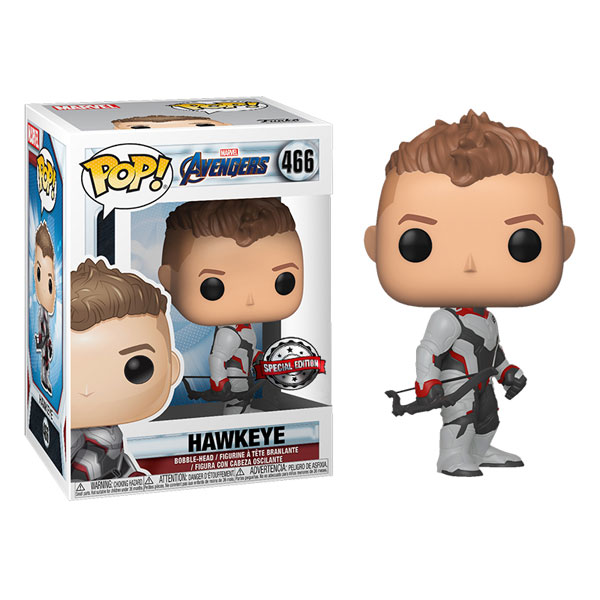 Funko Pop Avengers Endgame Hawkeye Dolls Limited Edition Figure Model Toys