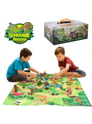 Wholesale large dinosaur model toys sets children educational toys gifts for kids