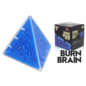 Super brain burn your brain 3d stereo magic cube labyrinth kids educational toys blue