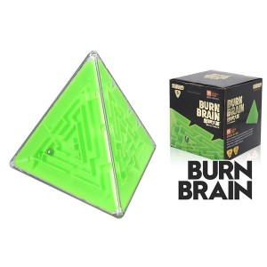 Super brain burn your brain 3d stereo magic cube labyrinth kids educational toys green