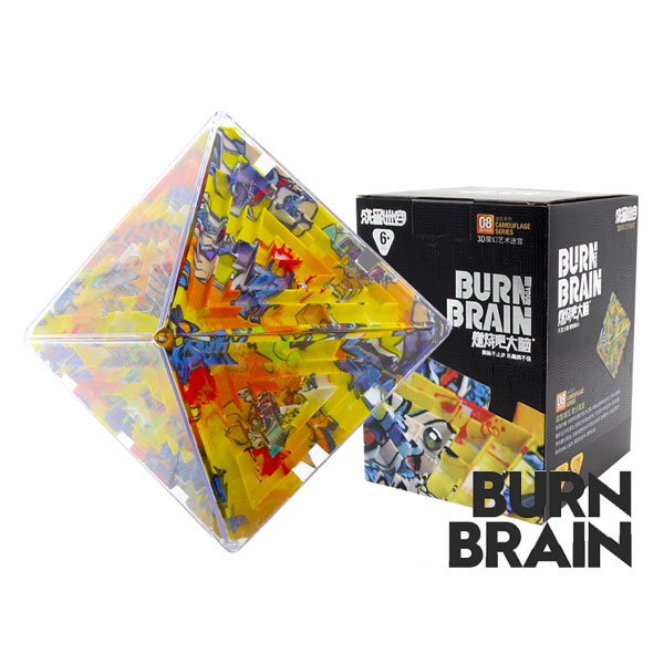 Super brain burn your brain octahedron magic cube labyrinth educational toys cartoon
