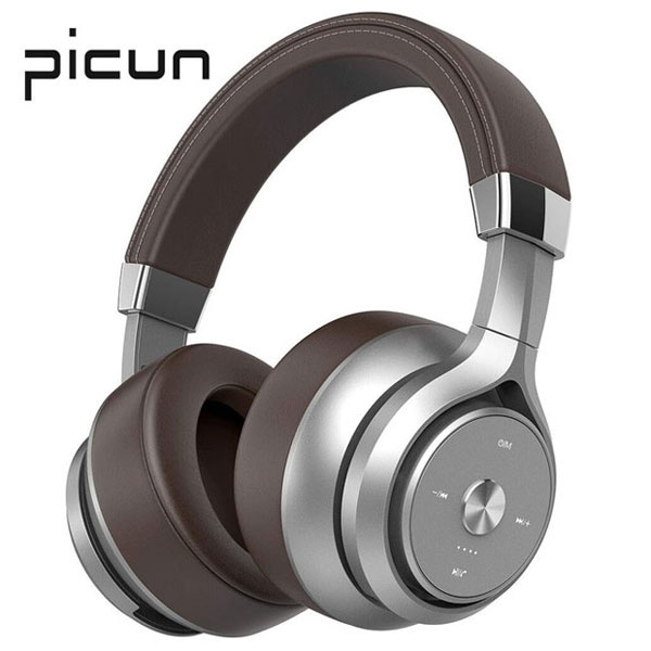 Picun P28S Wired Stereo Deep Bass Bluetooth Headphones With Microphone Music Headset