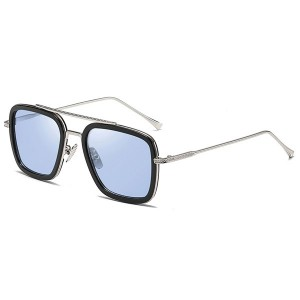 Fashion iron man style stream punk polarized sunglasses designer driving sunglasses