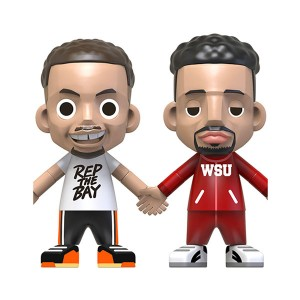 """Limited Curry And Thompson Ace Player Splash Brothers Mystery Blind Box 3.5"""" Figure"""