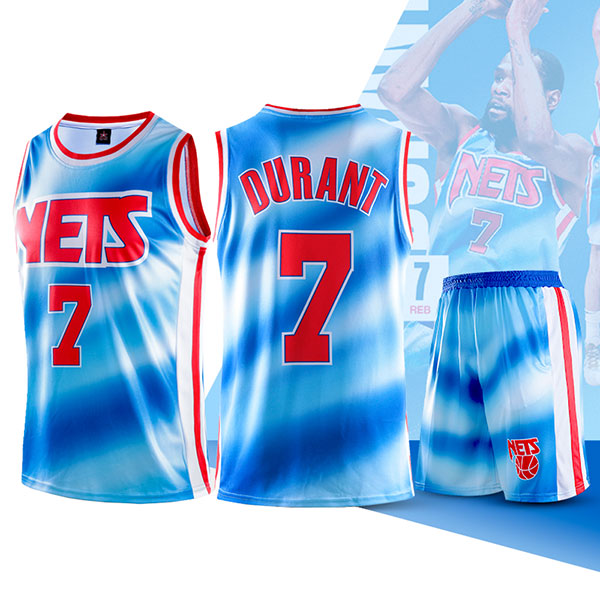 Two Piece Set Kevin Durant Nets Swingman Jersey And Pants Classic Edition