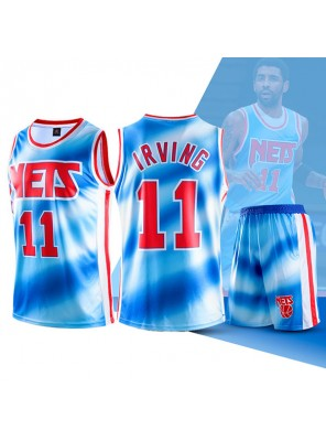 Two Piece Set Kyrie Irving Nets Swingman Jersey And Pants Classic Edition