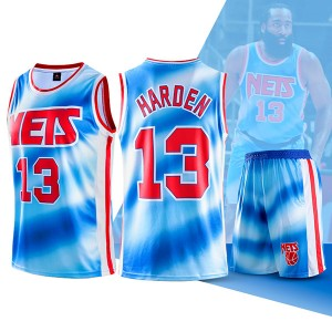 Two Piece Set James Harden Nets Swingman Jersey And Pants Classic Edition