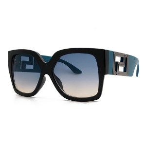 2021 European and American Fashion Luxury Sunglasses For Men And Women Blue