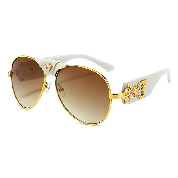 2021 European and American Luxury Metal Fashion Sunglasses For Men And Women