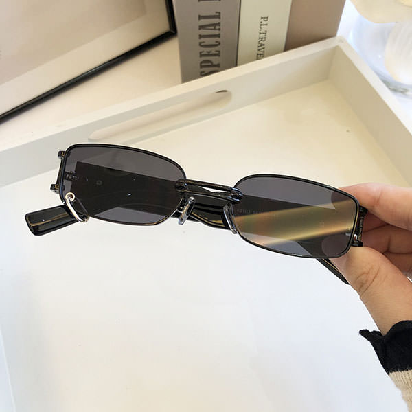 Limited Kris Wu Co-branded Hip-Hop Luxury Sunglasses For Men And Women