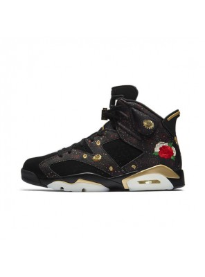 Air Jordan 6 Chinese New Year sneaker men and women sports shoes black