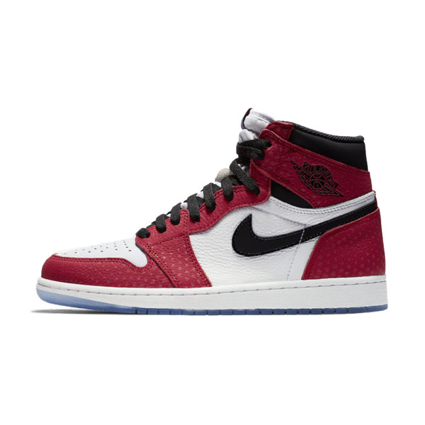 Air Jordan 1 Retro High OG Origin Story Spider-Verse Sneaker Men Skate Shoes