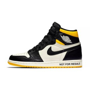 Air Jordan 1 High OG Not For Resale Varsity Maize Sneaker Men Skate Shoes