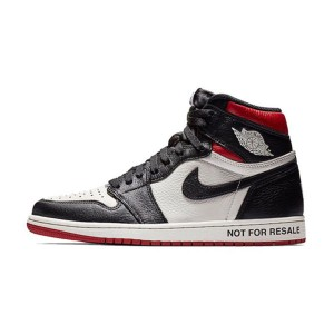 Air Jordan 1 High OG Not For Resale Varsity Red Sneaker Men Skate Shoes