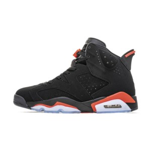 Air Jordan 6 Black Infrared Sneakers Men And Women Basketball Shoes