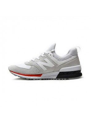 New Balance 574 Fresh Foam in MS574AW men and women running shoes white red