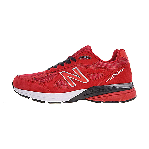 New Balance Made in USA M990V4 sneaker men's running shoes core red