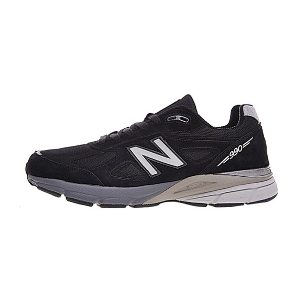 New Balance Made in USA M990V4 sneaker men's running shoes core black