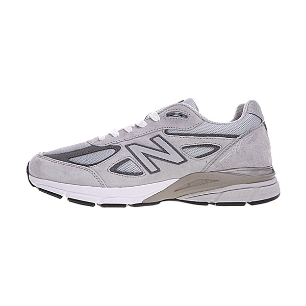 New Balance Made in USA M990V4 sneaker men's running shoes wolf grey