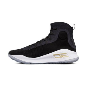 Under Armour Curry 4 More Dimes sneakers men's basketball shoes black gold