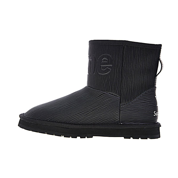 Limited Louis vuitton x Supreme x UGG shoes women's boots collection core black