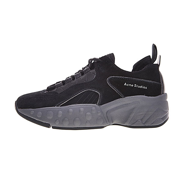 Acne Studios Manhattan Sneaker women's casual sports shoes triple black