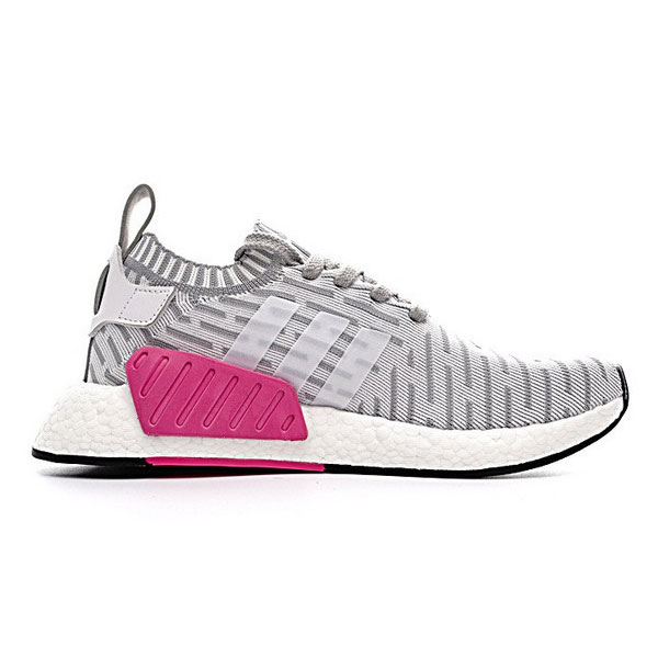 Adidas Originals NMD R2 PK boost runner womens sneakers khaki white BA7238