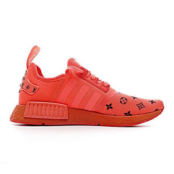 New Supreme x Louis Vuitton x adidas NMD R1 sup red running shoes S31507
