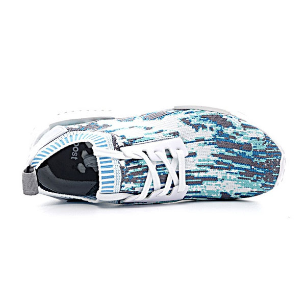 Sneakersnstuff x adidas Originals NMD R1 PK Datamosh shoes white/vapour steel