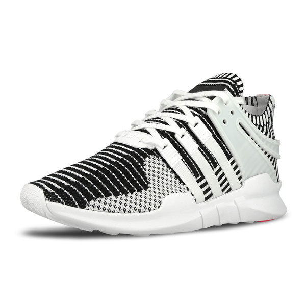 Adidas EQT Support ADV PK Zebra sneakers men's running shoes white BA7496