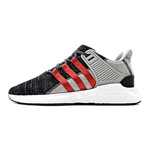 Overkill x Adidas Consortium EQT Support 93/17 boost running shoes grey red