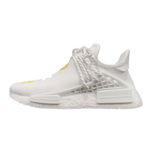 Limited adidas nmd pharrell williams human race birthday sneakers white