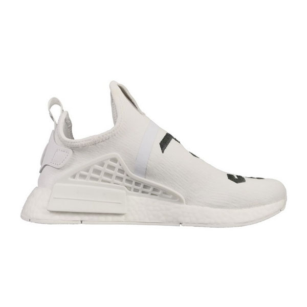 Fear of God x adidas nmd pharrell williams human race boost sneakers white