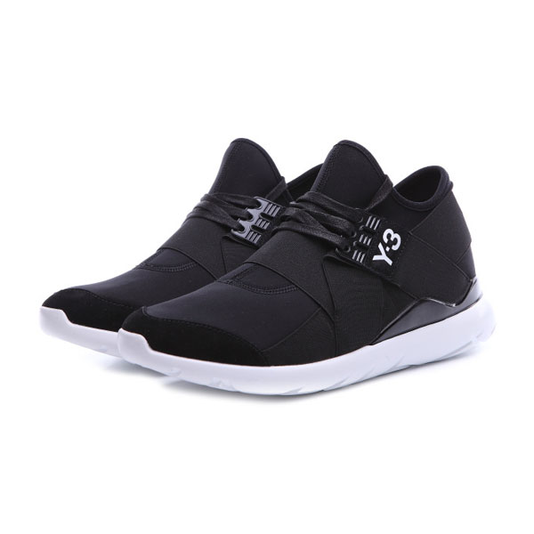 Adidas Y-3 Qasa Elle Lace 16SS sneakers cheap men's sports shoes black white