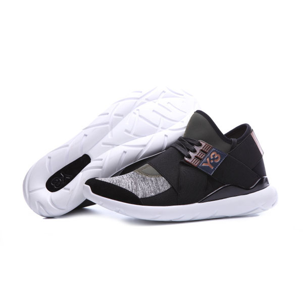 Adidas Y-3 Qasa Elle Lace 16SS sneakers men's sports shoes night cargo/black
