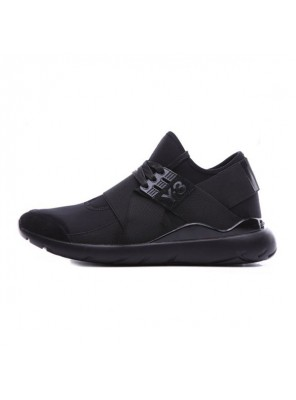 Adidas Y-3 Qasa Elle Lace 16SS sneakers men's casual sports shoes triple black